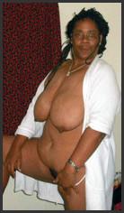 Tits black big saggy for