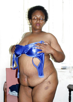 Fully naked big and fat black women