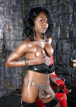 Busty ebony shemales naked in..